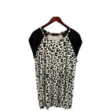 Lily and Lou Animal Print Plus Size Blouse Top Tunic Shirt sizes 20