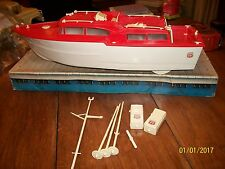 phillips 66 battery operated  plastic cabin cruiser