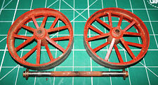 GENUINE 1960s MAMOD TE1 MODEL LIVE STEAM TRACTION ENGINE BACK WHEELS