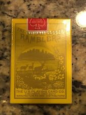 Rare Unopened Sealed Deck Ramblers No 23 Playing Cards Special Edition