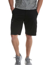 Men's Wrangler Black Cargo Shorts 60MSWBL Relaxed Fit Hits At Knee SIZES 34-48