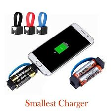 Mini Instant AA Battery Powered Phone Charger Travel Backup Stations for Samsung