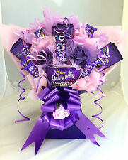 MOTHERS DAY DAIRY MILK SWEET TREE BOUQUET HAND MADE UNIQUE ANY OCCASION GIFT