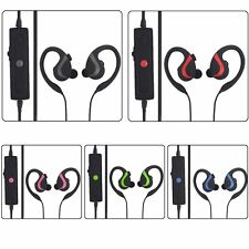 7 Wireless Sport Bluetooth Earhook Stereo Music Headset Multipoint Connection SM