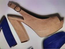 ISABELLA BROWN LADIES/WOMENS SHOES/WEDGES/HEELS LOLA TAUPE SUEDE