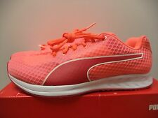 Puma Burst Womens Running Sneakers Shoes lightweight pink orange style 18863301