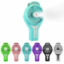 Mini Portable Rechargeable USB Cooling Misting Fan Personal Beauty Humidifier