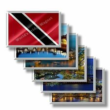 TT - Trinidad and Tobago - rectangular magnet souvenir