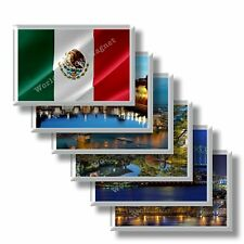 MX - Mexico - refrigerator magnets souvenirs