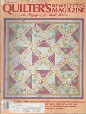 Quilting PATTERN Magazine Quilters Newsletter May 87