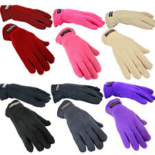 Insulated Thermal Fleece Winter Gloves for Men or Women – One Size Fits All