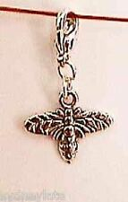 Insect Charms Tibetan Silver Honey Bee Wasp Silver Plated Lobster