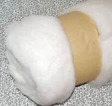 Needle Felting Carded Core Wool. Felts fast and firm.