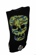 Romeo & Juliet Couture $130 NWT Black Skull Graphic Tank Top Women