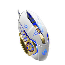 3200DPI Programmable LED Optical 6 Buttons USB Wired Gaming Mouse PC Laptop Mice