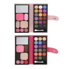 Pro 25 Colors Makeup Palette Kit Cosmetic Shimmer Eyeshadow Blusher Lip Gloss