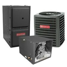 2 Ton 16 SEER 96% AFUE Two Stage Gas Furnace & Air Conditioner, Horizontal, TXV