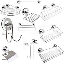 Showerdrape Trinity Bathroom Cloakrooms Chrome Wall Fixed Accessories Square