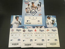 2013 Full Tickets Tampa Bay Rays YOU PICK ONE GAME Zobrist Longoria Archer Price