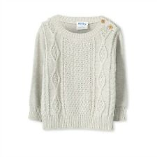 Milky Clothing Cable Knit Jumper Boys