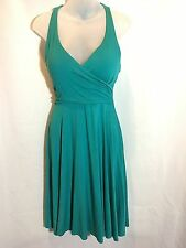 NEW Victorias Secret Moda Miraculous Push-Up Halter Bra Top Dress Green 36B 34C