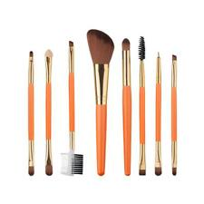 8pcs/set Pro Makeup Brushes Powder Foundation Eyeshadow Eyeliner Lip Brush Tools