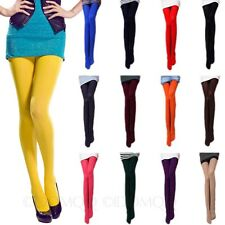 Semi Opaque Tights NEW Stretchy Assorted color Sexy Fashion winter Pantyhose 80D