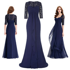 Mother of the Bride Long Dress Formal Evening Party Formal Bridesmaid Prom Ball