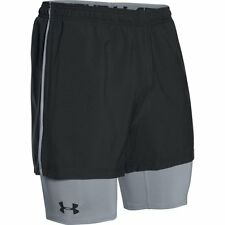 Under Armour Mens Mirage HeatGear 2-in-1 Gym Shorts Compression 1271948-001