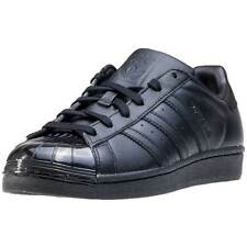 adidas Superstar Glossy Toe W Womens Trainers Black Black New Shoes