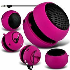 3.5mm Mini Capsule Travel Portable Rechargeable Speaker✔PINK