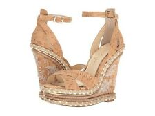 NIB Jessica Simpson Ahnika Platform Wedge Sandal in Natural Cork