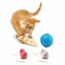 Funny Pet Cat Dog LED Exercise Light Laser Ball Teaser Automatic Interactive Toy