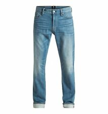 DC Shoes™ Washed Indigo Bleach - Straight Fit Jeans - Straight Fit Jeans - Men