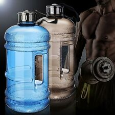 Water Bottles 2.2L Large Bottle Outdoor Sports Gym Fitness Training Running New