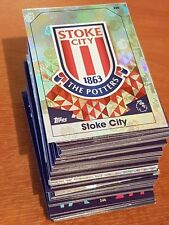 Match Attax Cards 16-17 2016-2017 - Stoke City - Premier League PL MOTM Away etc