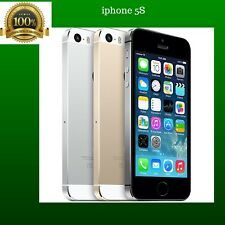 APPLE IPHONE 5S 16GB GSM AT&T STRAIGHT TALK AT&T SIM CARDS CELL PHONE