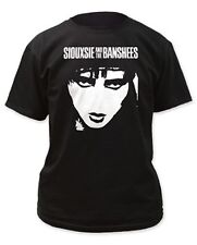 """Siouxsie And The Banshees """"Face"""" Black T-Shirt - FREE SHIPPING"""