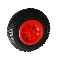 """10""""/ 8"""" Puncture Proof Rubber Tyre Wheel for Canoe/Kayak Trolley Trailer"""