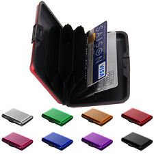 Waterproof Business ID Credit Card Wallet Holder Aluminium Alloy Purse Case Box