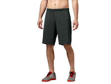 Reebok CrossFit DT Antimicrobial Training Black Wicking Shorts PlayDry