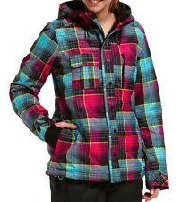 ONeill Freedom Peridot Snow Jacket in Blue All Over Print
