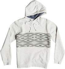 Quiksilver Strange Night Pullover Hoody in Light Grey Heather
