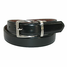 New Nautica Boys' Glove Calf Leather Reversible Dress Belt