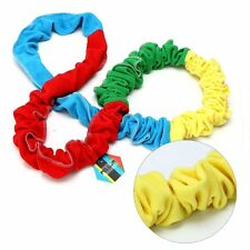 Children Outdoor Exercise Rainbow Elastic Pull Rope Toys For Team Activity Games