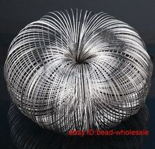 Latest 100/300 stainless steel Memory wire metal wire for bracelet bangle