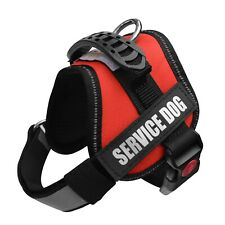 Service Dog Vest Harness +50 FREE ADA Info Cards,Woven Nylon & Polyester,Therapy