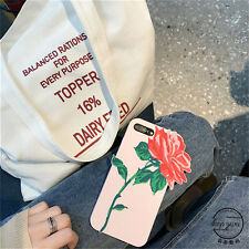 Fashion 3D Pretty Roses Flowers Silicone Soft case Cover for iPhone 7 6 6S Plus