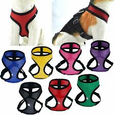 Small Pet Control Harness for Dog & Cat Soft Mesh Walk Collar Safety Strap Vest
