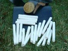 200 Musket Paper tubes for Reenactment living history events. Free Ship!